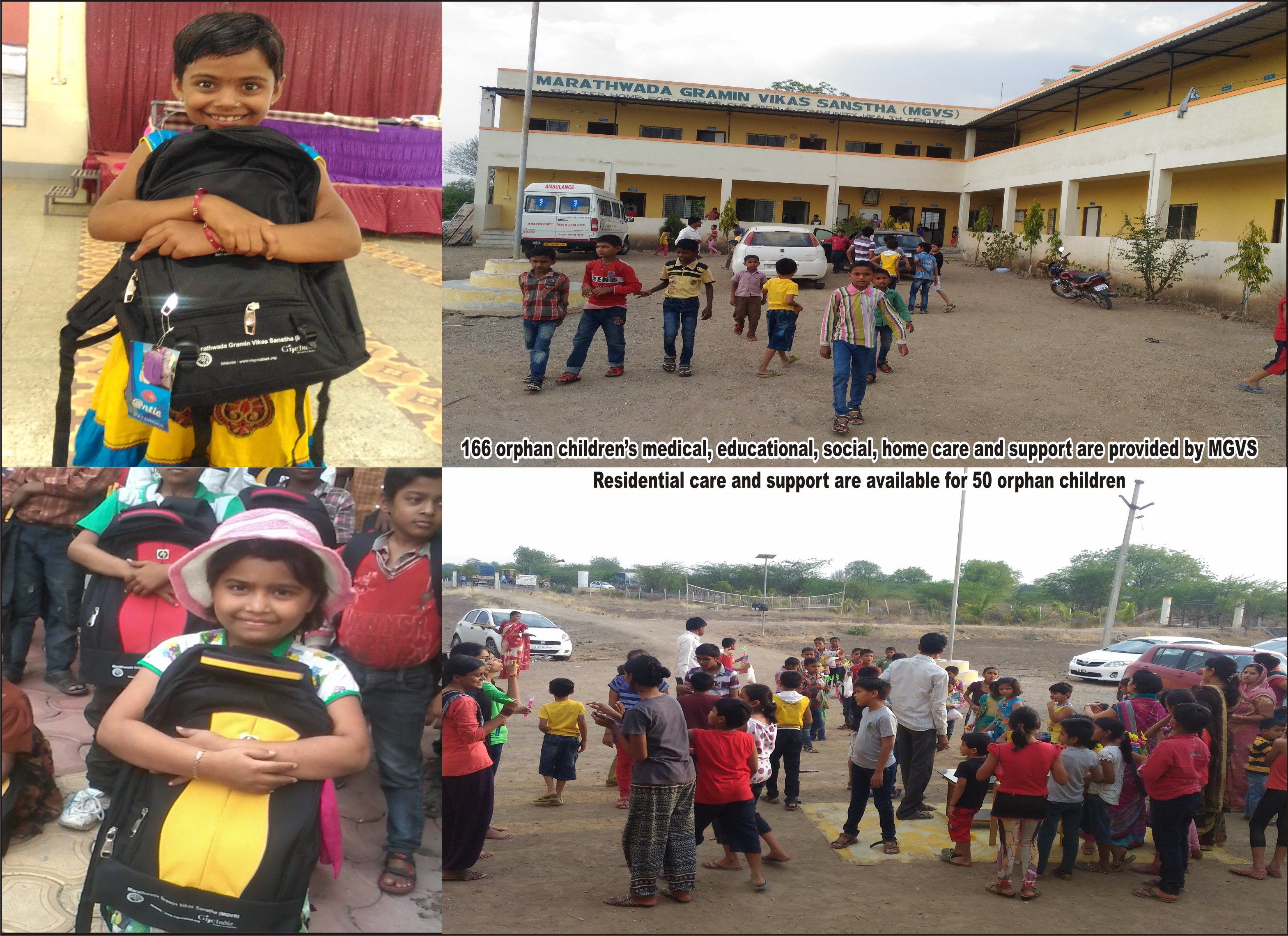 Shelter home  and home base care project for orphan children