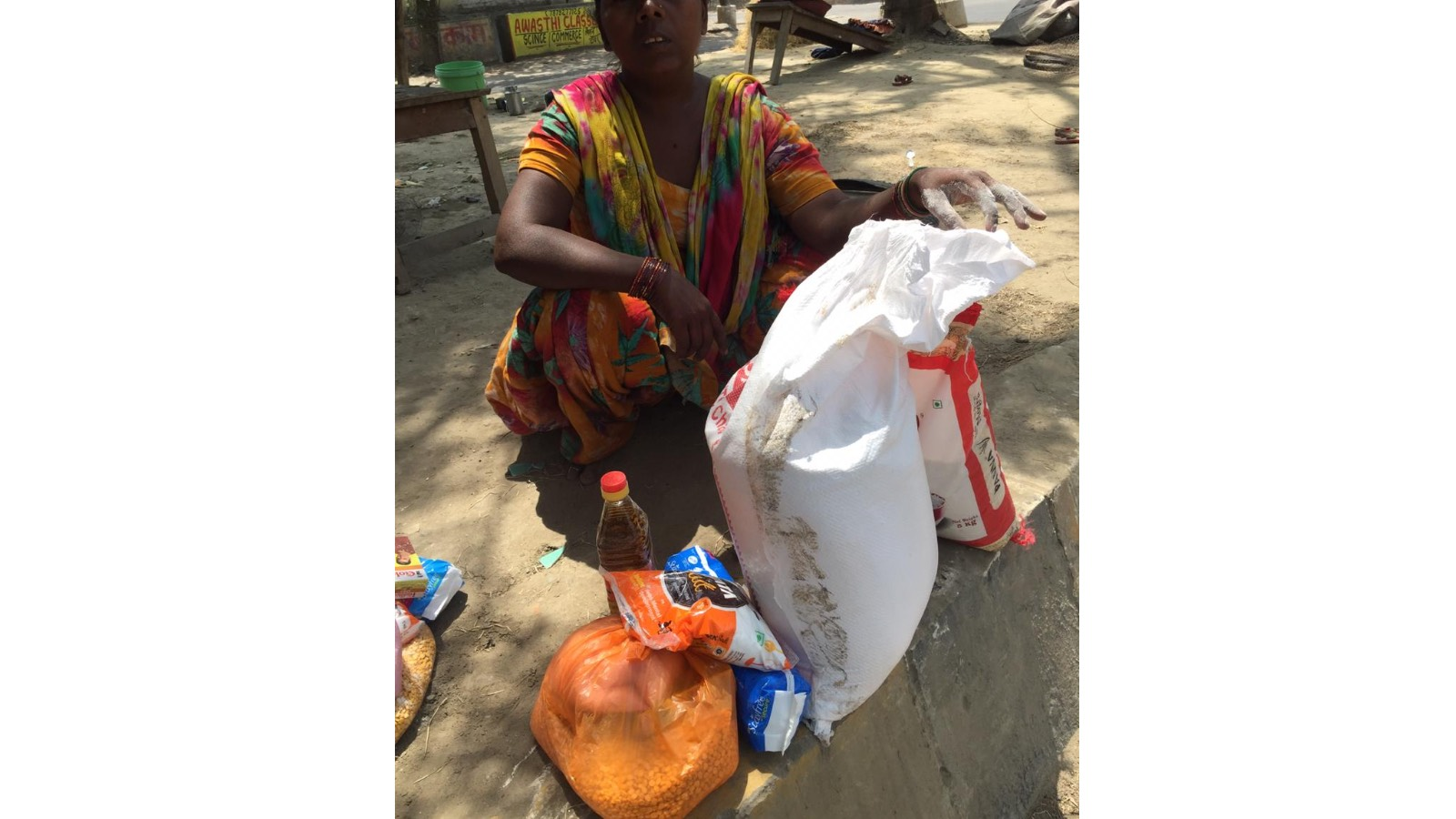 1 Month Dry Ration to Street Families