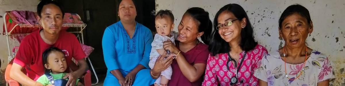 Help bring a community clinic to life in a remote village in Manipur, India