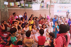 Supporting mothers of children studying in Government schools to participate in learning of children