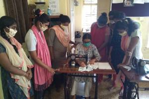 SUI DHAGA-Stitch for Future, a Skill Training and Income Generation Program for the girls  who are victims of abuse and violence &  Homeless women