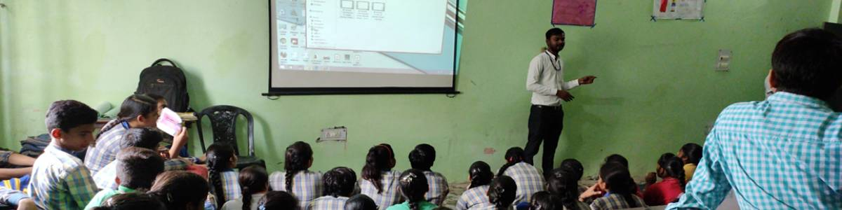 Give India Foundation Digital Literacy project.