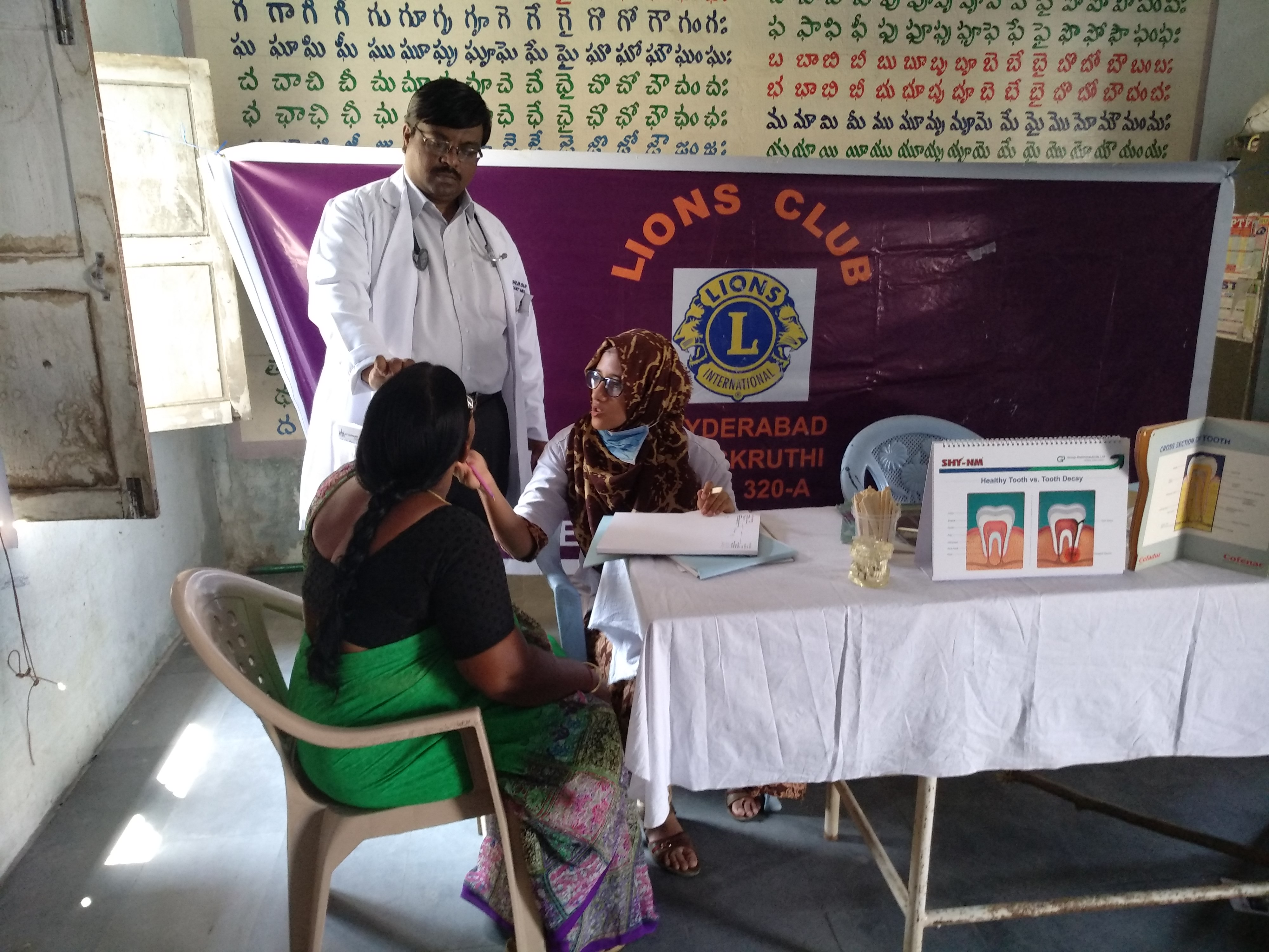 Mammogram Van with facility to screen breast and cervical cancers in remote villages of Telangana and Andhra Pradesh