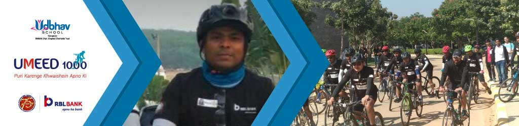 Sandeep Cycles for Girls' Education as part of Umeed 1000 Cyclothon