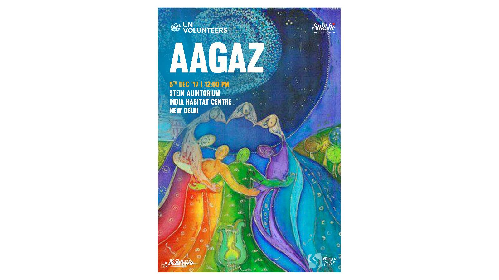 #StageForChange - Aagaz