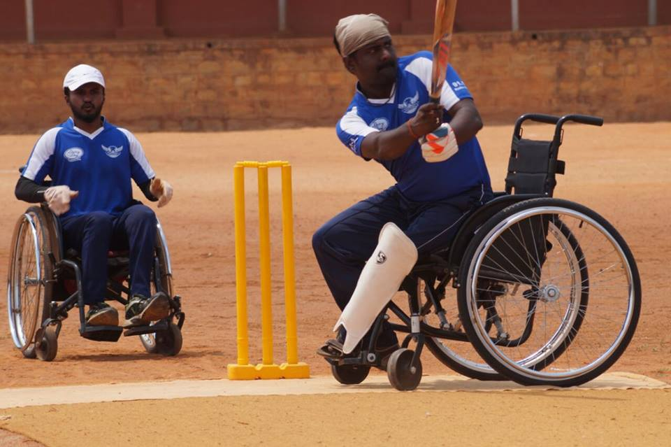 Karnataka Wheelchair Cricket
