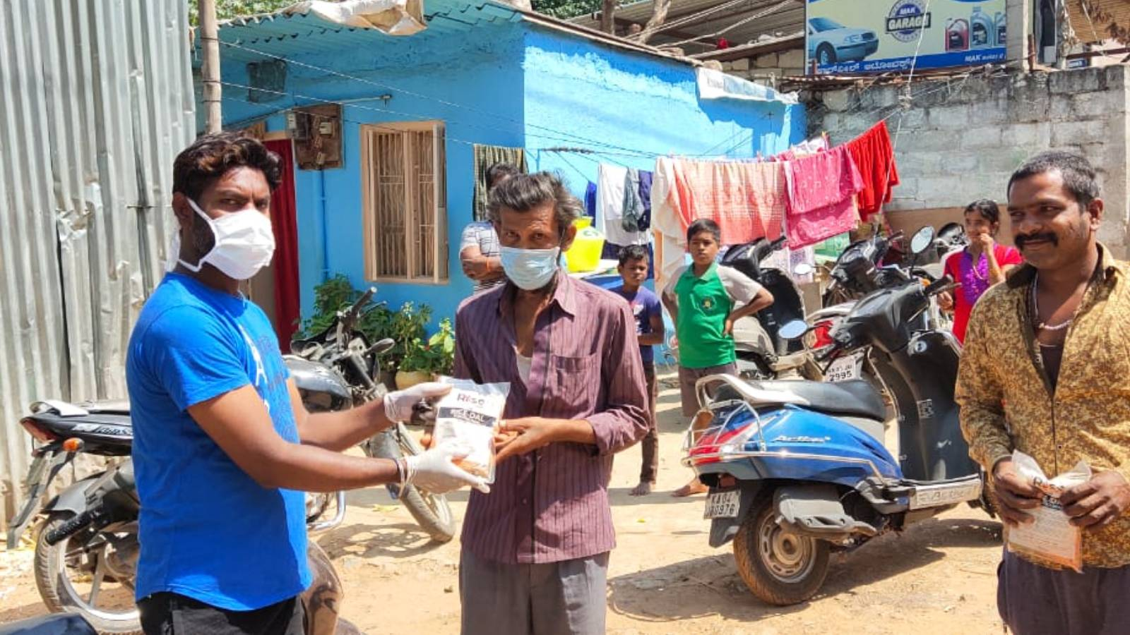 Covid 19 Meal Distribution