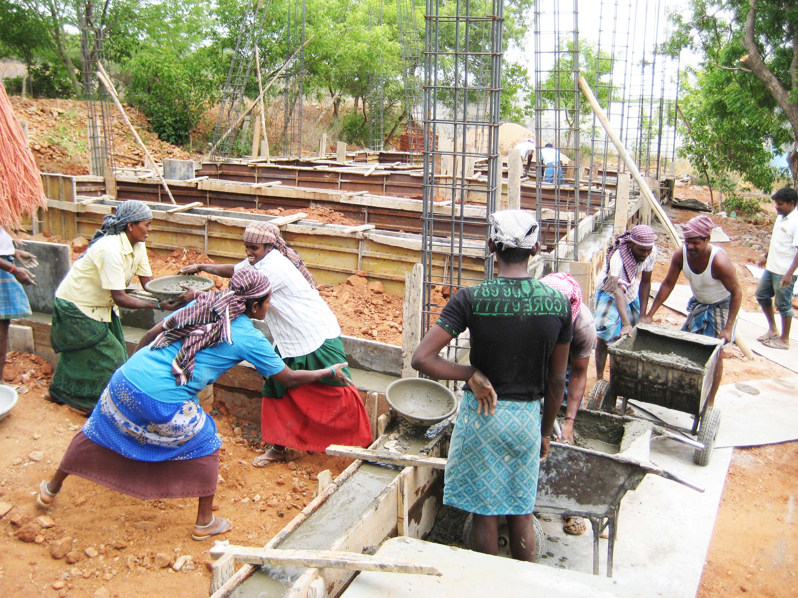 Construction of a safe dining hall for orphans in Tamil Nadu