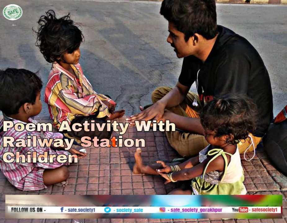 Creating Role Models from Railway Connected Children involved in Rag-picking and other Chid Labour Activities