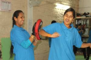 Self-defence for women with disabilities
