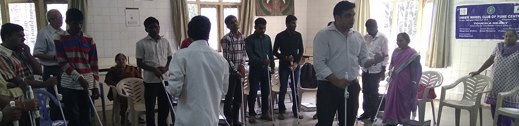 Jivhala: Residential Facility, Skill Development ,Rehab for the Blind, Disabled Students