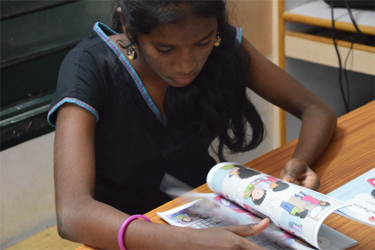 Educate 100,000 young girls in Vellore district about puberty and menstrual hygiene