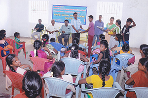Support for providing nutritious food and learning materials to 60 children of HIV/AIDS positive parents of Virudhunagar District.