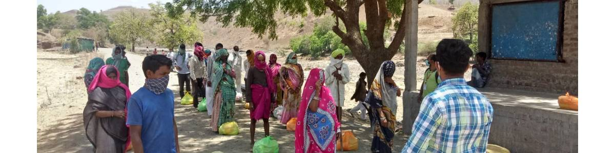 Help the needy living in remote villages fight COVID