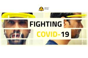 100,000 - M19 Face-Shields for COVID19