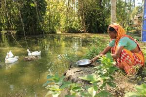 Supporting 100 poor farmers  to double their incomes through climate change resilient livelihoods in rural NE India