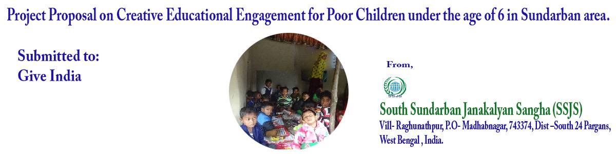 Creative Educational Engagement for Poor Children under the age of 6