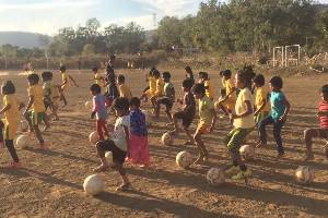 Building joyful and empowered children in rural Madhya Pradesh in a focused way - SPORTS I WELL-BEING I TECHNOLOGY